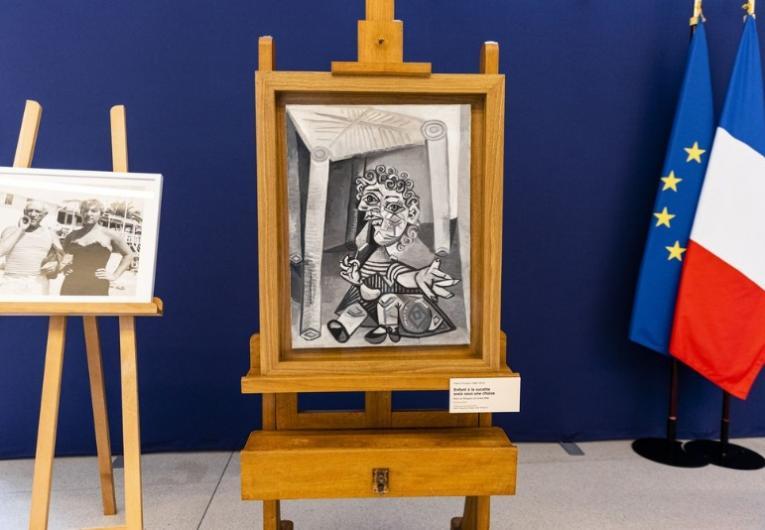 Filha de Picasso doa nove obras do pai a museu da França