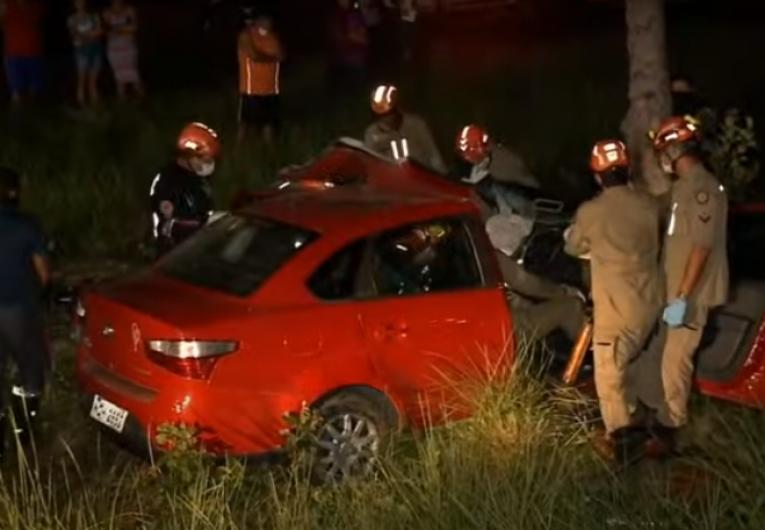 Idosa morre e outras duas mulheres ficam feridas em acidente de trânsito, em João Pessoa