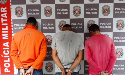 Trio suspeito de tomar carros por assalto é preso em João Pessoa