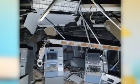 Bando explode agência bancária no Sertão da Paraíba