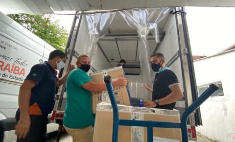 Paraíba distribui 245.760 doses de vacina contra a covid-19
